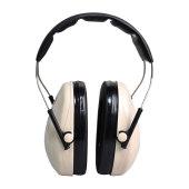 3M H6A隔音耳罩防鞭炮噪音学习睡觉工厂降噪声耳机睡眠射击架子鼓