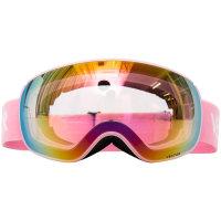 VECTOR滑雪眼镜成人儿童滑雪装备双层防雾镜片可卡近视雪地护目镜
