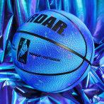 正品篮球7号星空海洋限量版儿童蓝球5号男女生专用情人节礼盒套装
