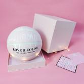 正品篮球女生专用7号6号女子粉色七夕情人节送男女朋友礼物盒装