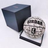 正品篮球7号成人6号粉色女生专用5号小学生儿童真皮手感蓝球礼盒