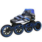 美洲狮速滑轮滑鞋竞速鞋成人溜冰鞋儿童碳纤直排大轮旱冰鞋冰刀鞋