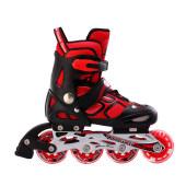 美洲狮溜冰鞋儿童初学者轮滑鞋全套装专业滑冰鞋中大童男女童旱冰